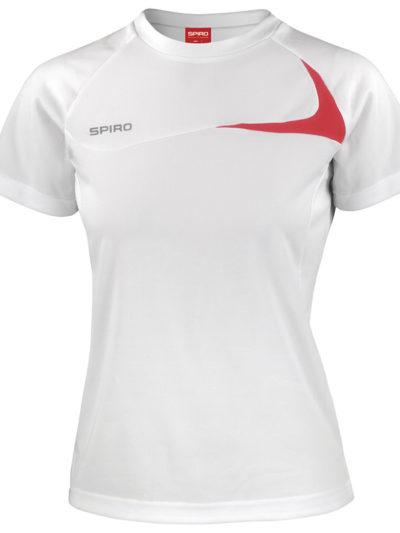 Women's Spiro dash training shirt