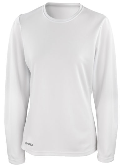 Women's Spiro quick dry long sleeve t-shirt