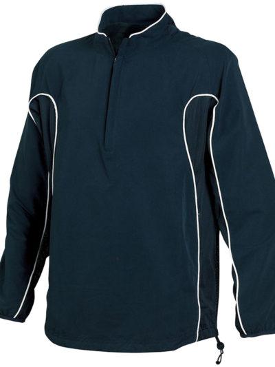 Half zip unlined training top