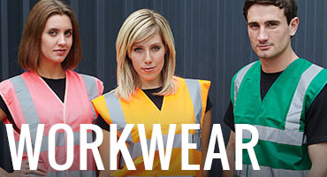 Branded workwear, printed work shirts and protective clothing